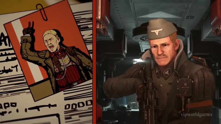 Видео: Wolfenstein 2_ The New Colossus — The Diaries of Agent Silent Death