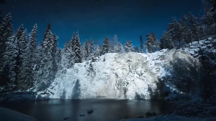 Видео: Снежный ноктюрн. – Ричард Клайдерман _ Snow Nocturne. – Richard Clayderman