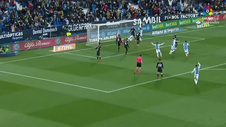 Resumen de CD Leganés vs Real Madrid (1-3)
