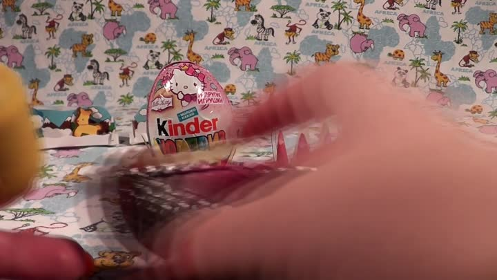 Видео: Unboxing Surprise eggs Киндер Сюрприз Хелло Китти, Kinder Surprise Hello kitty #5