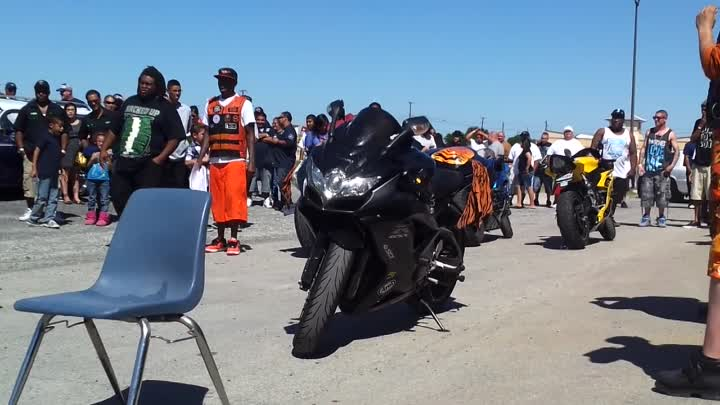 Burn out contest in Killeen, Tx