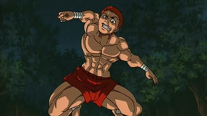 Видео: Боец Баки (Baki the Grappler) 4 серия (2001) ТВ-1 [2x2][AnimeDub.ru]