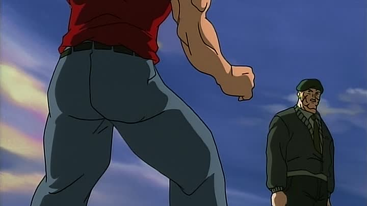 Видео: Боец Баки (Baki the Grappler) 9 серия (2001) ТВ-1 [2x2][AnimeDub.ru]
