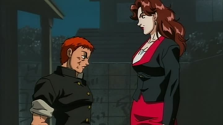 Видео: Боец Баки (Baki the Grappler) 15 серия (2001) ТВ-1 [2x2][AnimeDub.ru]