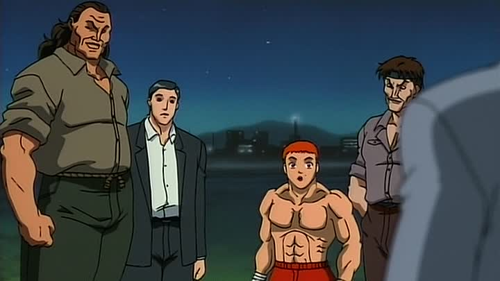 Видео: Боец Баки (Baki the Grappler) 13 серия (2001) ТВ-1 [2x2][AnimeDub.ru]