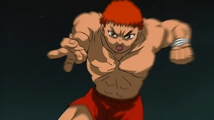 Видео: Боец Баки (Baki the Grappler) 14 серия (2001) ТВ-1 [2x2][AnimeDub.ru]