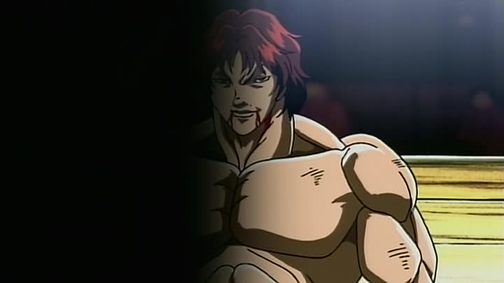 Видео: Боец Баки (Baki the Grappler) 22 серия (2002) ТВ-2 [2x2][AnimeDub.ru]