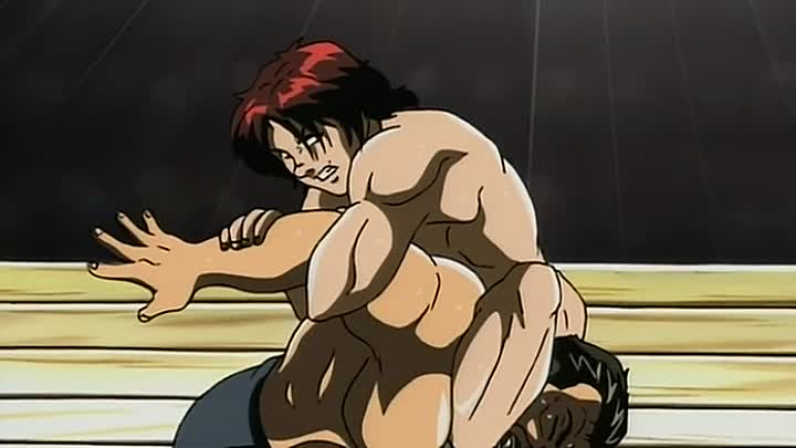 Видео: Боец Баки (Baki the Grappler) 14 серия (2002) ТВ-2 [Субтитры][AnimeDub.ru]