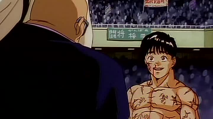 Видео: Боец Баки (Grappler Baki The Ultimate Fighter) (1994) OVA-1 [Siava62][AnimeDub.ru]