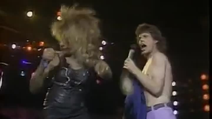 Mick Jagger & Tina Turner It's Only Rock 'n Roll+