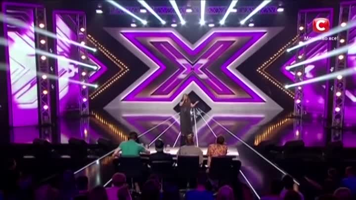 Видео: Pregnant woman sings Whitney Houston «I have nothing». The X Factor - TOP 100