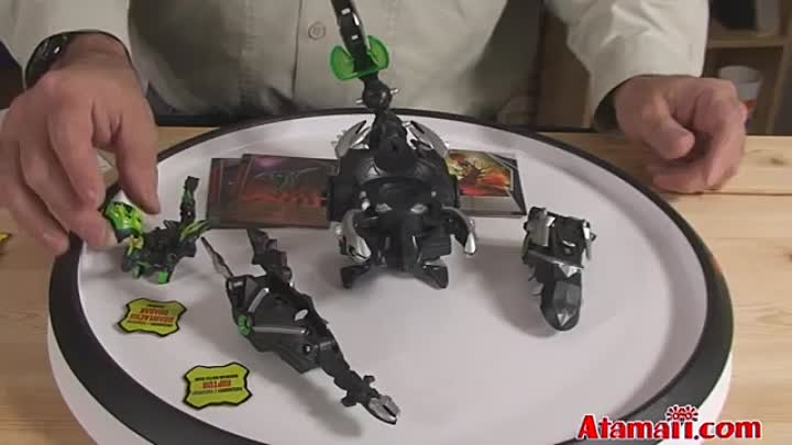 Bakugan Toys Dharak Colossus Gundalian Invaders Toy Review Unboxing
