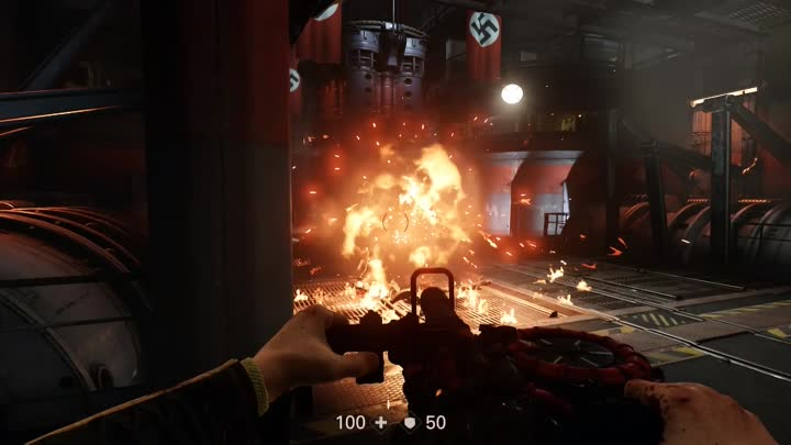 Wolfenstein 2 The New Colossus | серия 9 | Манхэттен Противоатомный бункер