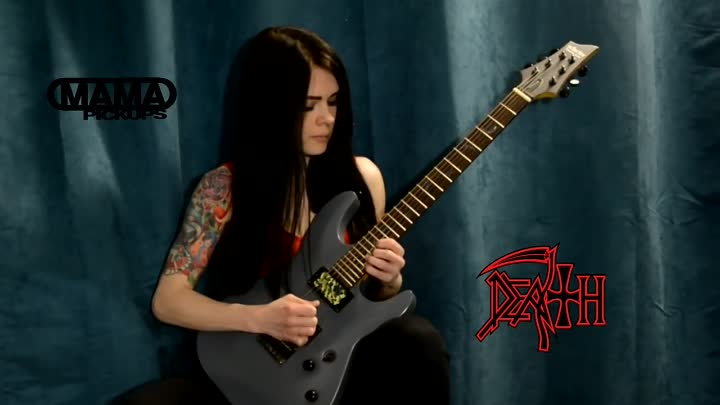 Видео: Death - Low life (solo cover)