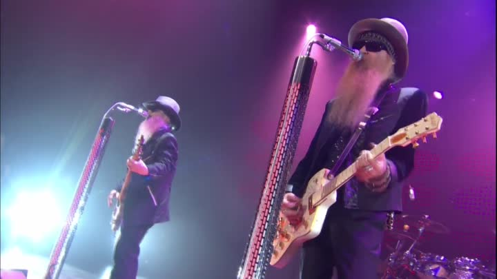 Видео: ZZ Top- Gimme All Your Lovin' 2008 1080 HD