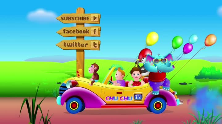 ChuChu TV Numbers Song - NEW Short Version - Number Rhymes