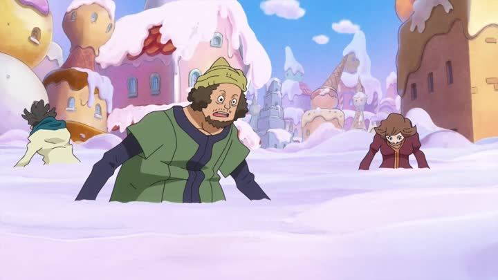 Видео: One Piece - 843 RainDeath