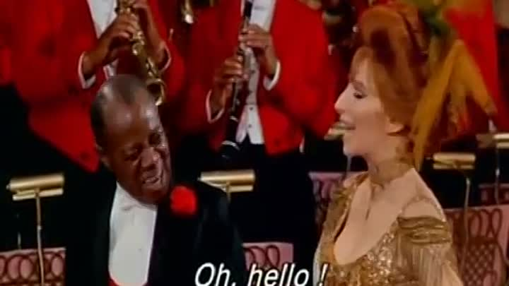 Видео: Music+Cinema Hello, Dolly! - Louis Armstrong-Barbara Streisand (Lyrics)