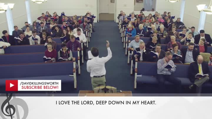 "Видео: ""I Love The Lord Down In My Heart"" - Church of Christ / Церковь Христа"