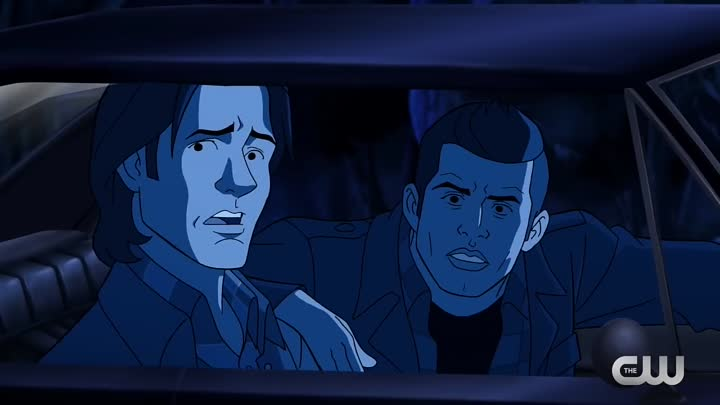 Видео: Supernatural 13x16 'Scoobynatural' Castiel Meets Scooby Doo