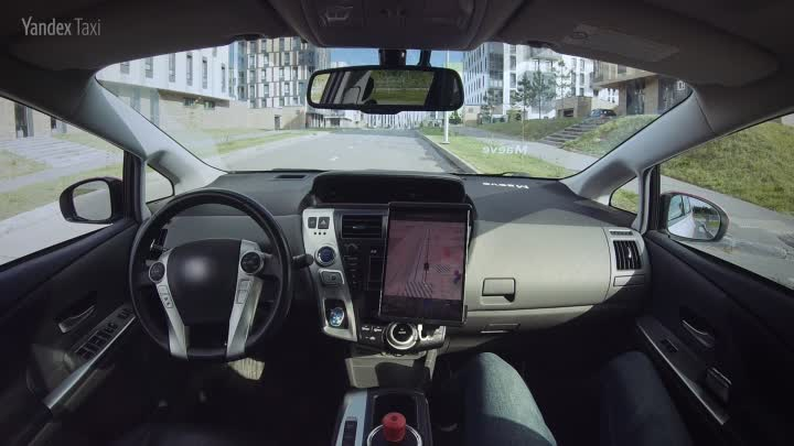 Yandex Self-Driving Car  The launch of the first autonomous