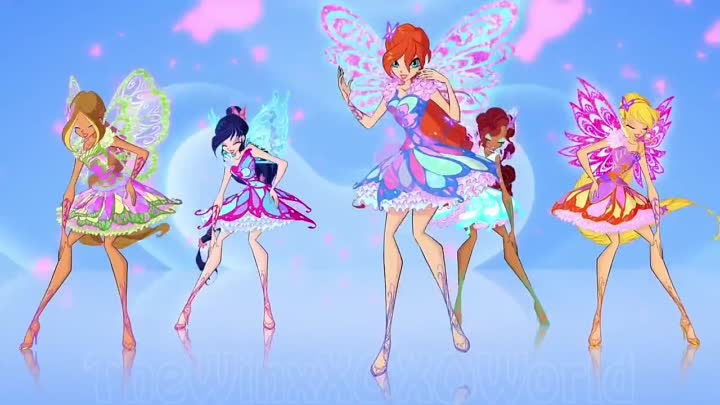 Видео: [FHD] Winx Club Season 7 (Butterflix) Trailer Song - Extended Version от группы WINX RUS.7 SEZON
