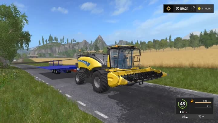 Farming Simulator 17 NEW HOLLAND CRAZY BALES MEGA AND 600 BALE AUTO