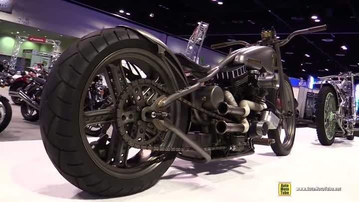 Видео: 1997 Led Sled Custom Bike - Walkaround - 2015 AIMExpo Orlando