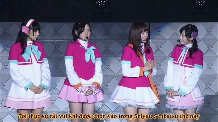 """Видео: [Vietsub] Concert """"AKB48 in Tokyo Dome : Dream of 1830 Meters"""" - Day 1 - Part.1"""