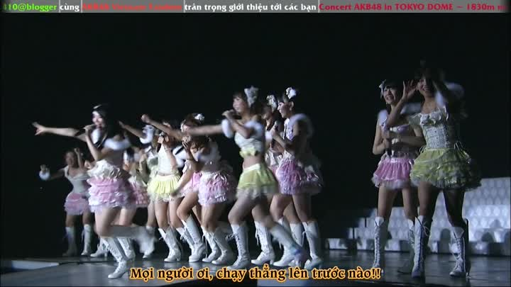 """Видео: [Vietsub] Concert """"AKB48 in Tokyo Dome : Dream of 1830 Meters"""" - Day 1 - Part.2"""