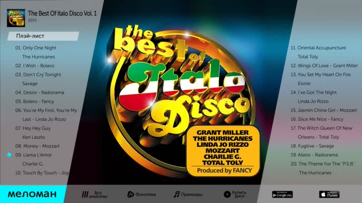 Видео: THE BEST OF ITALIO DISCO VOL 1