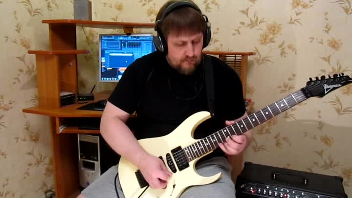 Видео: SHRED METAL GUITAR SOLO ( ПОЛНАЯ ВЕРСИЯ НА YOUTUBE )