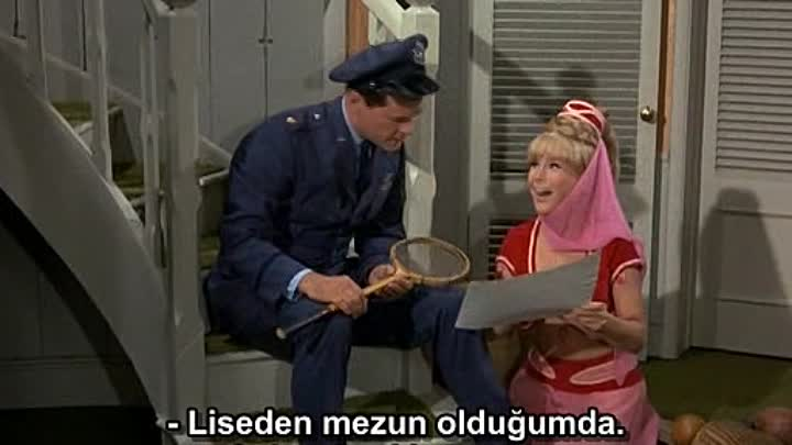 Видео: I Dream Of Jeannie Türkçe Altyazılı 2.Sezon 29.Bölüm The Birds and the Bees Bit_arc
