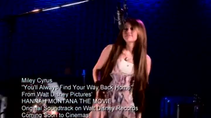 Видео: Hannah Montana - Find your way back home - Miley Sessions 2