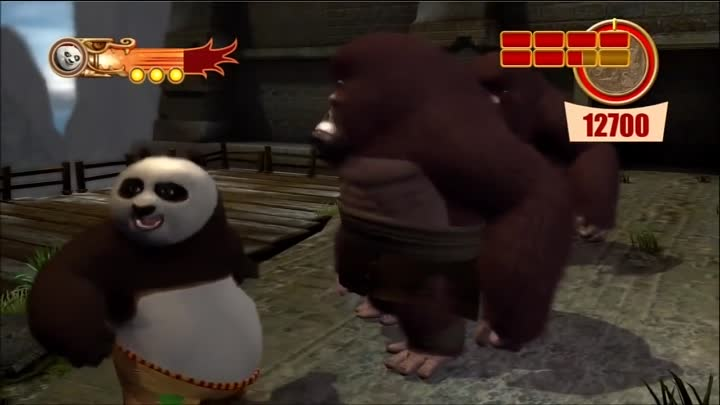Видео: Kung Fu Panda 2: Free Play: Combat - Hard Gold[Part1 of 2][HD][XBOX 360][Gameplay]