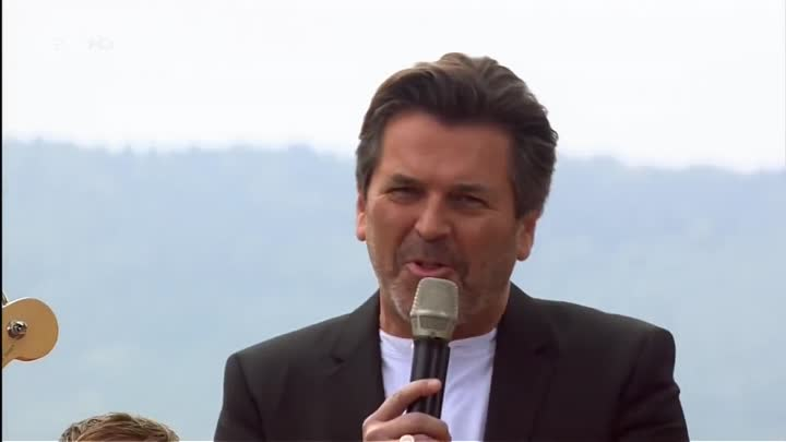 Thomas Anders – Everybody(Wants to Rule the World) ZDF - Fernsehgarten on Tour 12.10.2014