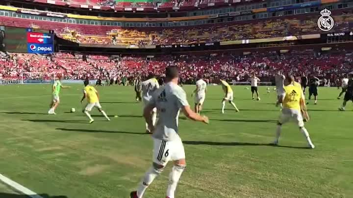 Видео: Twitter post by Real Madrid (1)