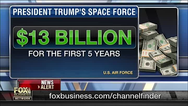 Видео: Trump's Space Force to cost $13B Don't hold your breath_ Gen. Jack Keane