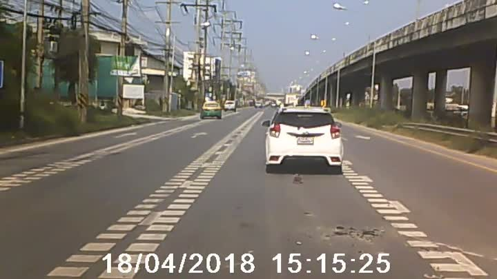 Flying Cement Lid Nearly Crashes into Cars || ViralHog