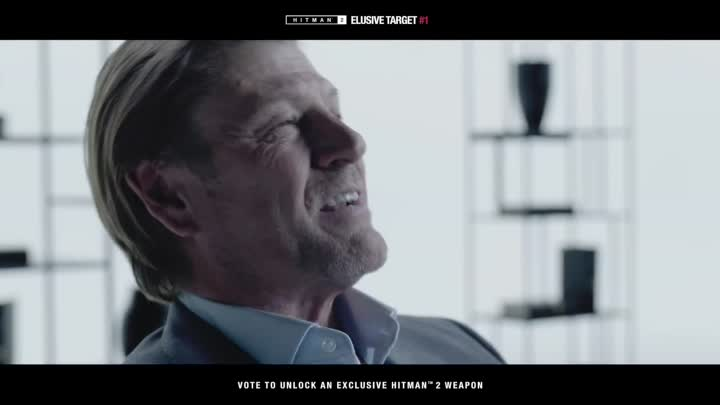 Видео: Hitman 2 – Sean Bean Elusive Target #1 Reveal ¦ PS4