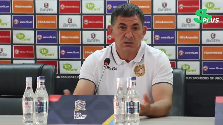 Видео: Armen Gyulbudaghyants's and Gevorg Ghazaryan's press-conference before match against FYR Macedonia