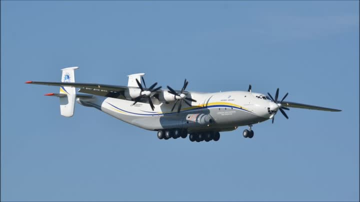 with live ATC) INCREDIBLE SPECIAL IN ZRH!!! Antonov Airlines