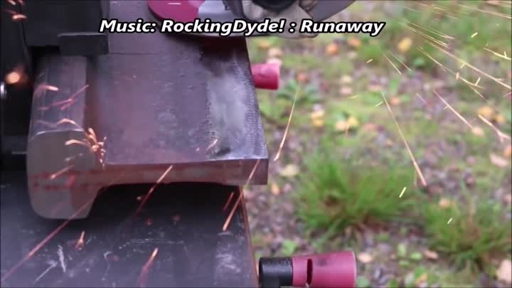 Battle axe from a Railroad track