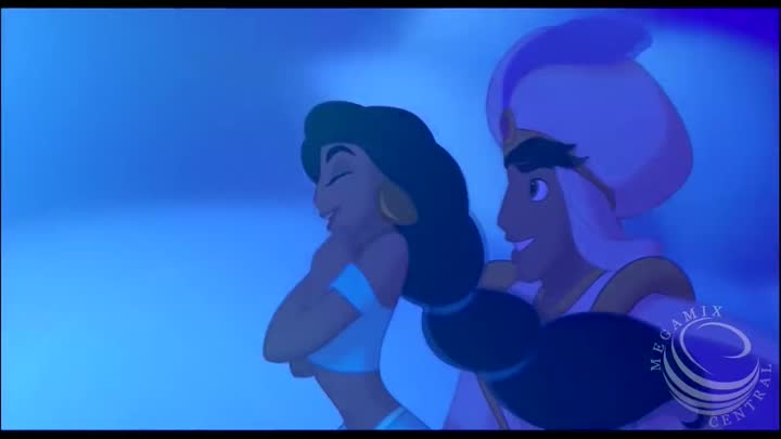 Видео: DISNEY MASHUP - Ariel, Aladdin, Jasmine & Elsa - Frozen vs. The Little Mermaid vs. Aladdin