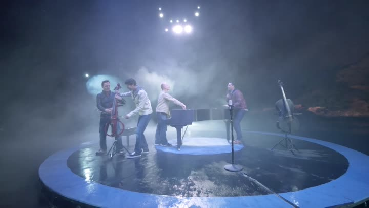 Видео: Ants Marching/Ode To Joy - 4 Guys, 3 min, 2 cellos, 1 piano - ThePianoGuys