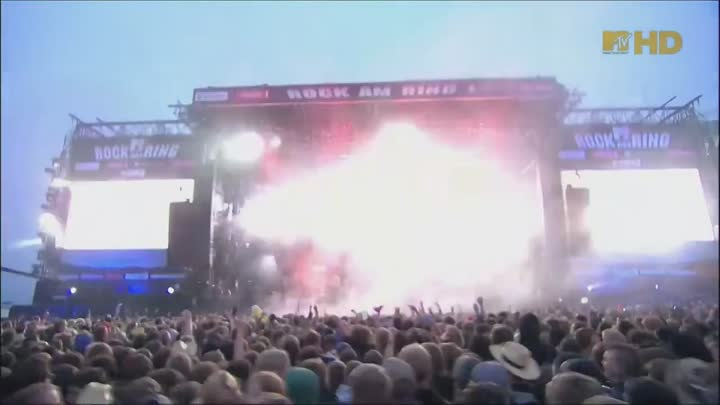 Видео: Prodigy - Invaders Must Die Live Rock am Ring 2009 MTV HD 1080i