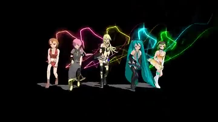 MMD - MEIKO Luka Lily Miku GUMI - Bad Apple!! (Read the description please)