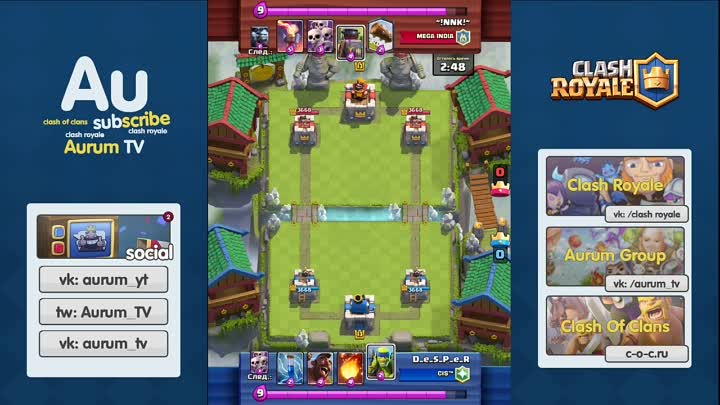 МЕГА-ДУЭЛЬ ГЛАВ ТОП РУ КЛАНОВ. DESPER В TV ROYALE _ CLASH ROYALE