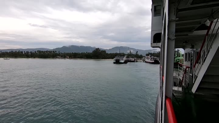 [2.7K] Koh Samui Pier to Don Sak Pier by ferry -Thailand