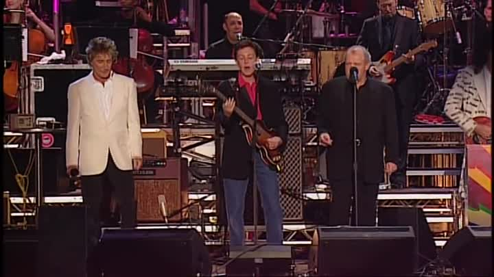 Видео: Paul McCartney, Joe Cocker, Eric Clapton & Rod Stewart - All You Need Is Love (LIVE) HD